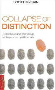 cover of collapse of distinction