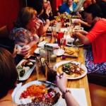 friends, food, fellowship