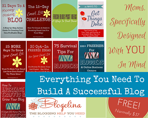blogging ebooks for moms