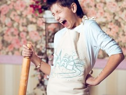 a screaming cook