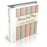homeschool mom life binder