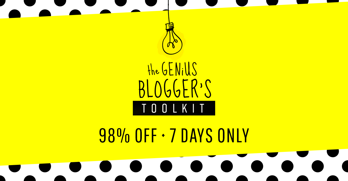 The Genius Blogging Toolkit