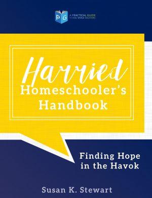 cover harried homeschoolers handbook