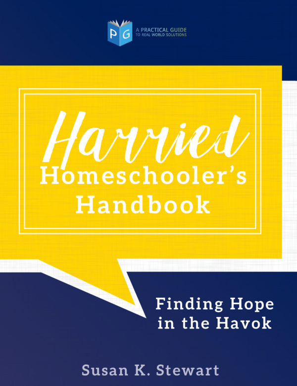 cover harried homeschoolers handbook